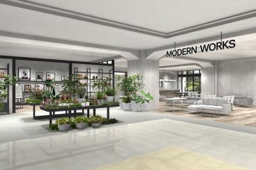 フランフラン、家具に特化した新ブランド「モダンワークス」みなとみらいに出店