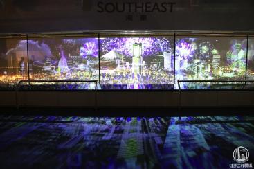 """横浜ランドマークタワーで夜景とプロジェクションマッピング融合の""""新""""夜景を体験!"""