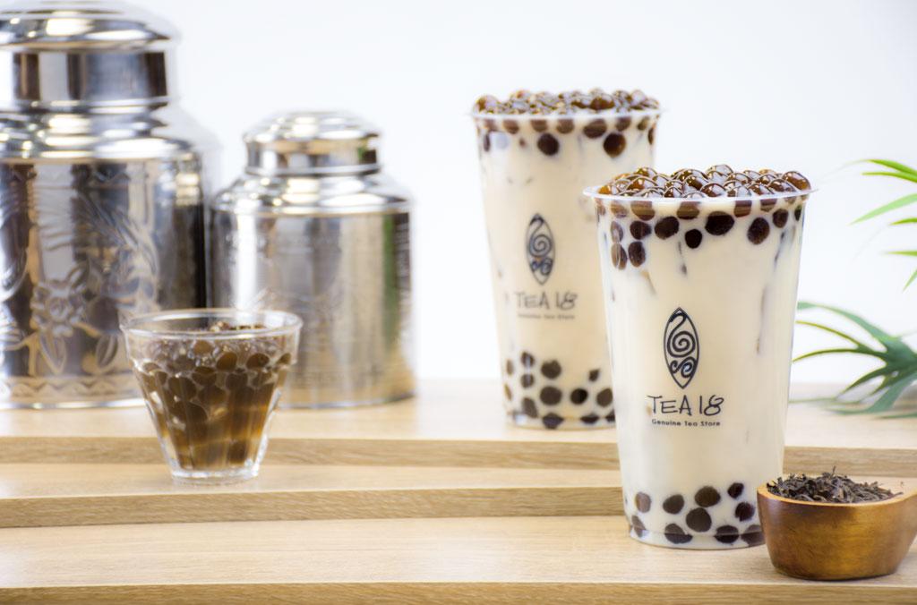 台湾茶とタピオカ専門店「TEA18」そごう横浜で横浜初オープン!