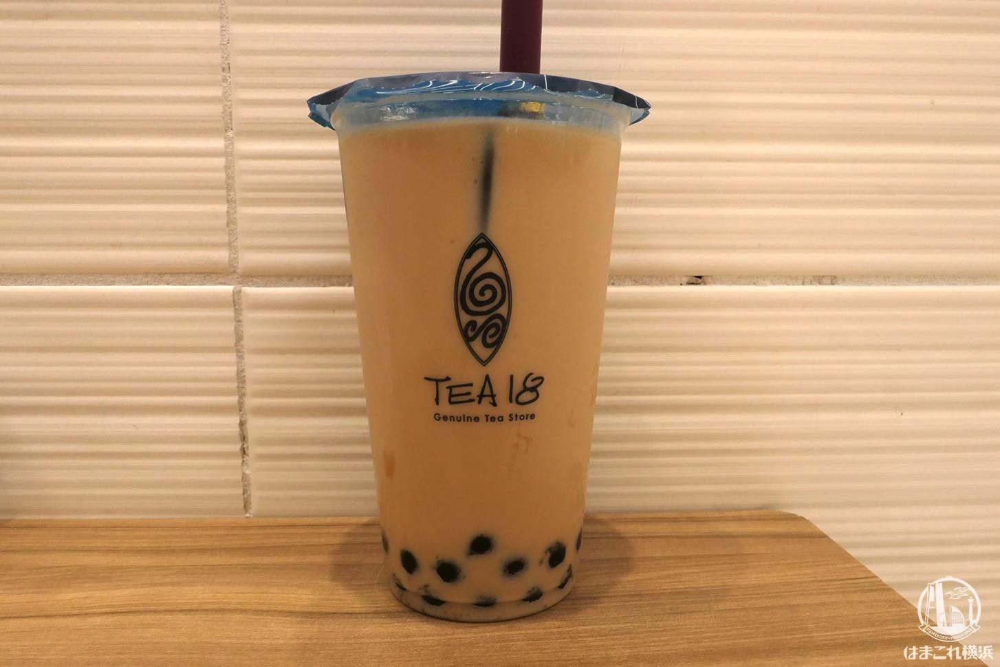 TEA18 鉄観音茶タピオカミルクティー