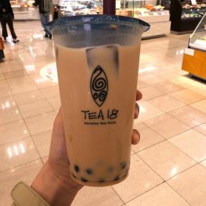 横浜駅「TEA18」でタピオカドリンク・鉄観音茶の台湾ミルクティー飲んで来た!