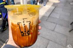横浜中華街 タピオカ専門店「TEA TIME」で黒糖タピオカラテ、タピオカミルクティー初体験!