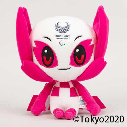 ぬいぐるみM(東京2020パラリンピックマスコット) ソメイティ
