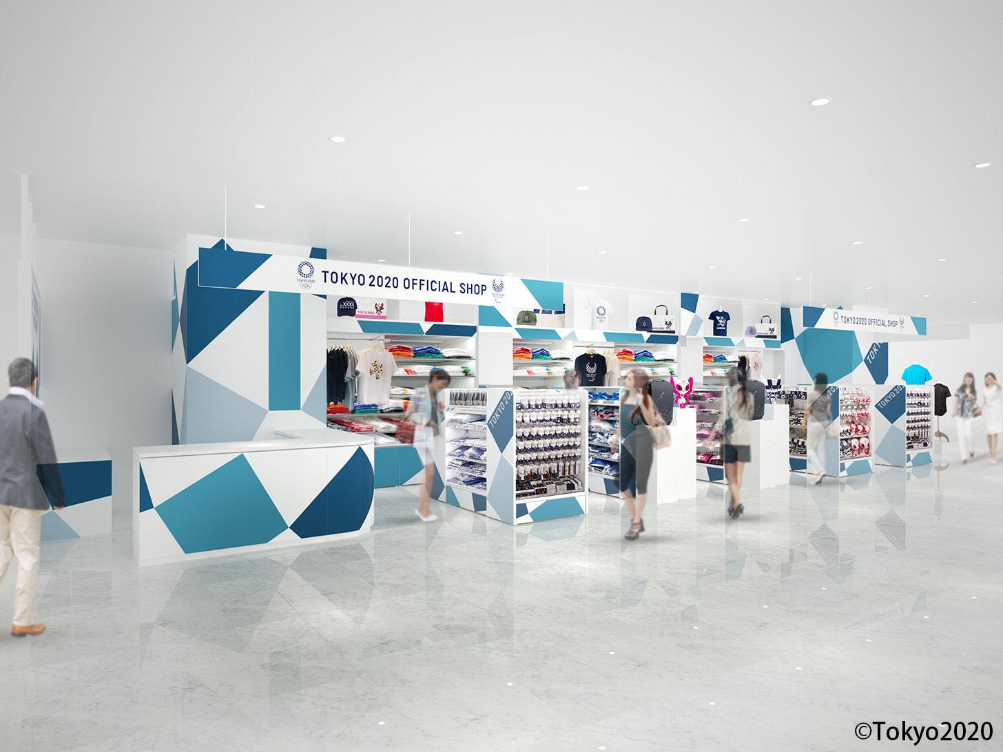 東京2020オフィシャルショップ、横浜駅東口・マルイシティ横浜にオープン!