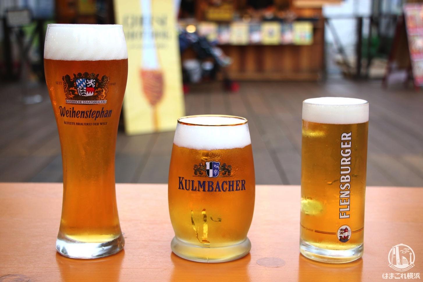 日本初上陸ビール