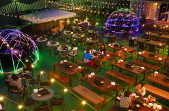 2019年 横浜モアーズ屋上にBBQ食べ放題の全天候型ビアガーデンがオープン!