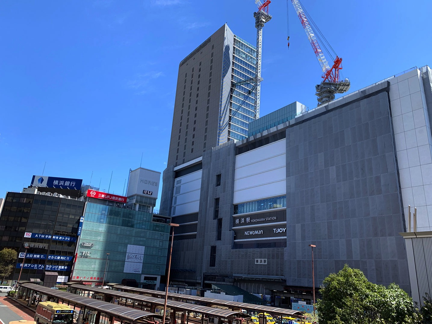 2019年4月 横浜駅西口の様子