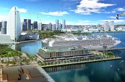 インターコンチネンタル横浜Pier 8、みなとみらいに開業!客船停泊の埠頭内