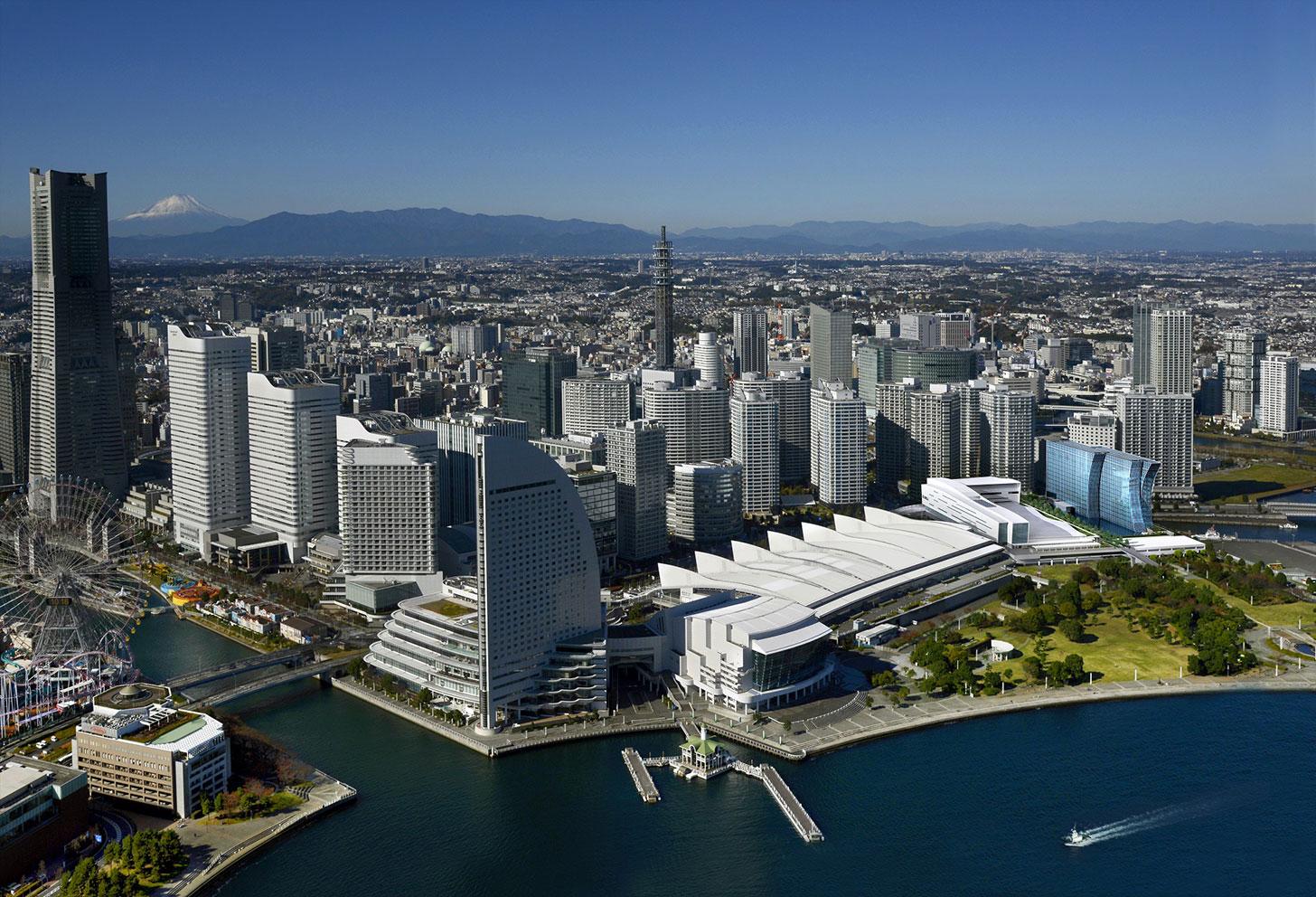 パシフィコ横浜ノース俯瞰