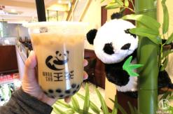横浜中華街 王府井「王茶」のほうじ茶タピオカミルクティーが芳しく美味!