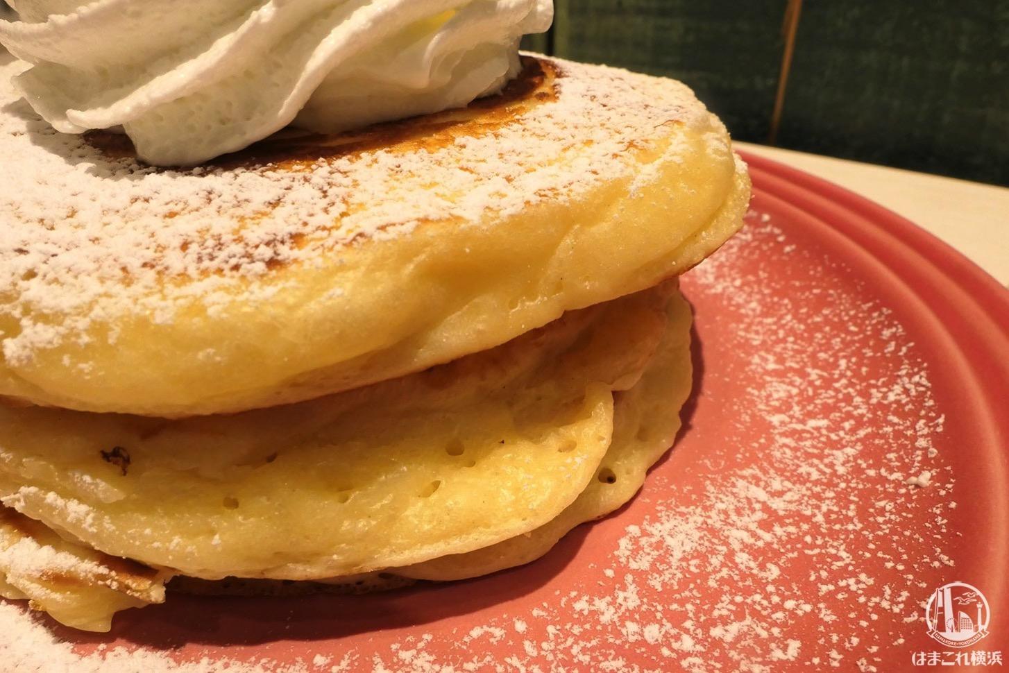 バターミルクのパンケーキ生地