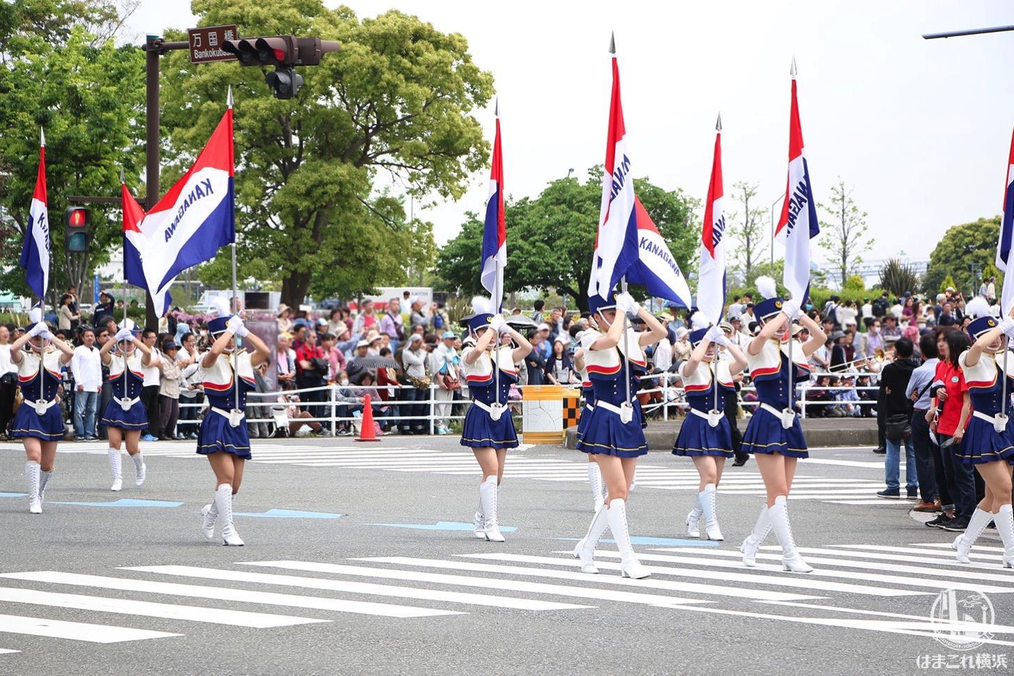 国際仮装行列「ザ よこはまパレード」パフォーマンス