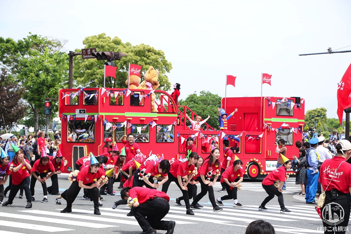 国際仮装行列「ザ よこはまパレード」ハムリーズ