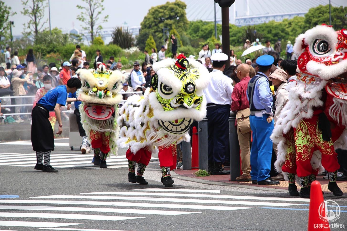 国際仮装行列「ザ よこはまパレード」中国獅子舞