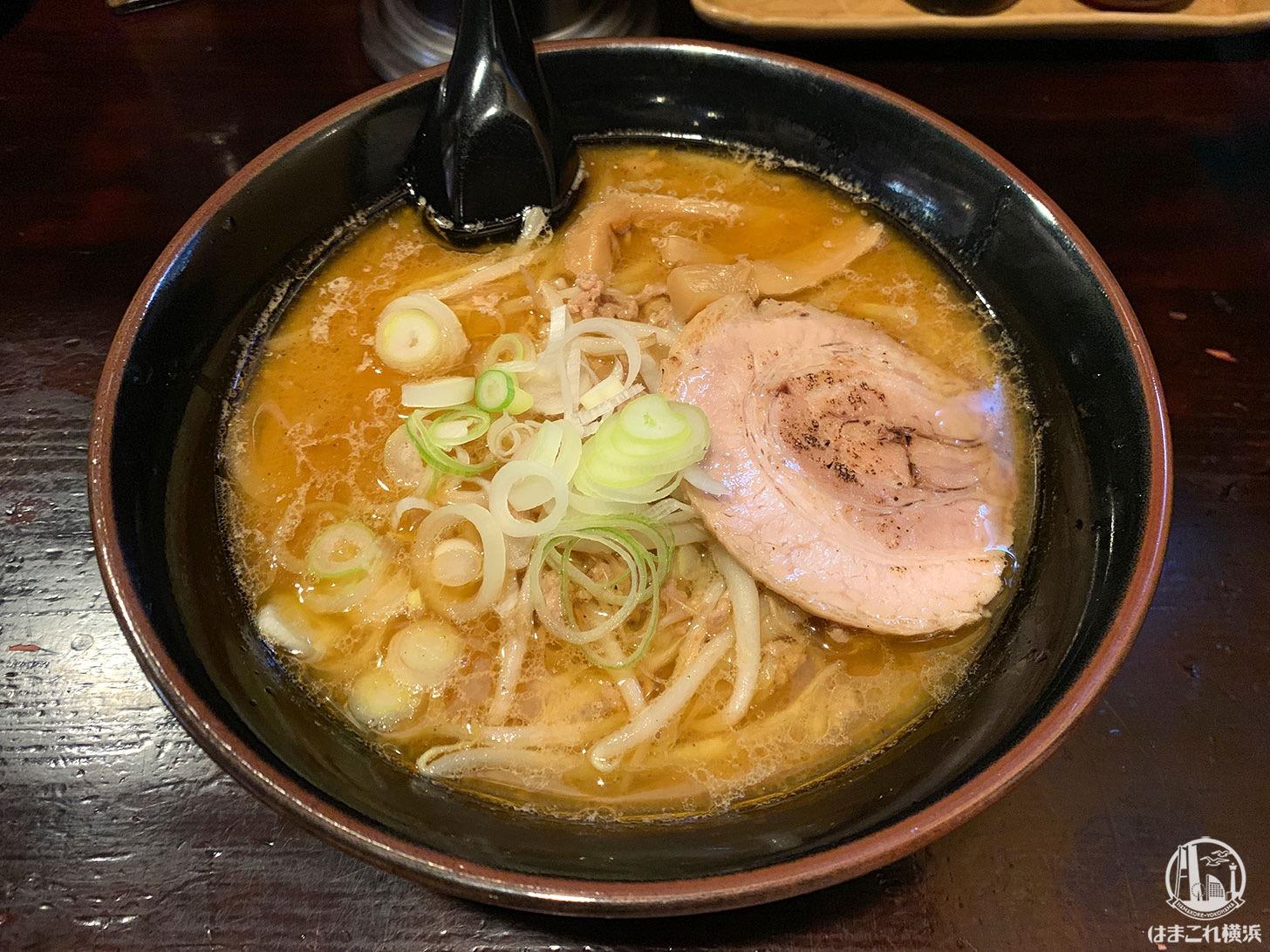 横浜・磯子「麺屋 和光」のさっぽろ味噌ラーメンが甘く濃厚でリピする一杯