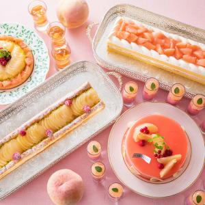 横浜ベイホテル東急 デザートブッフェ「スィートジャーニー」8月のテーマは桃!