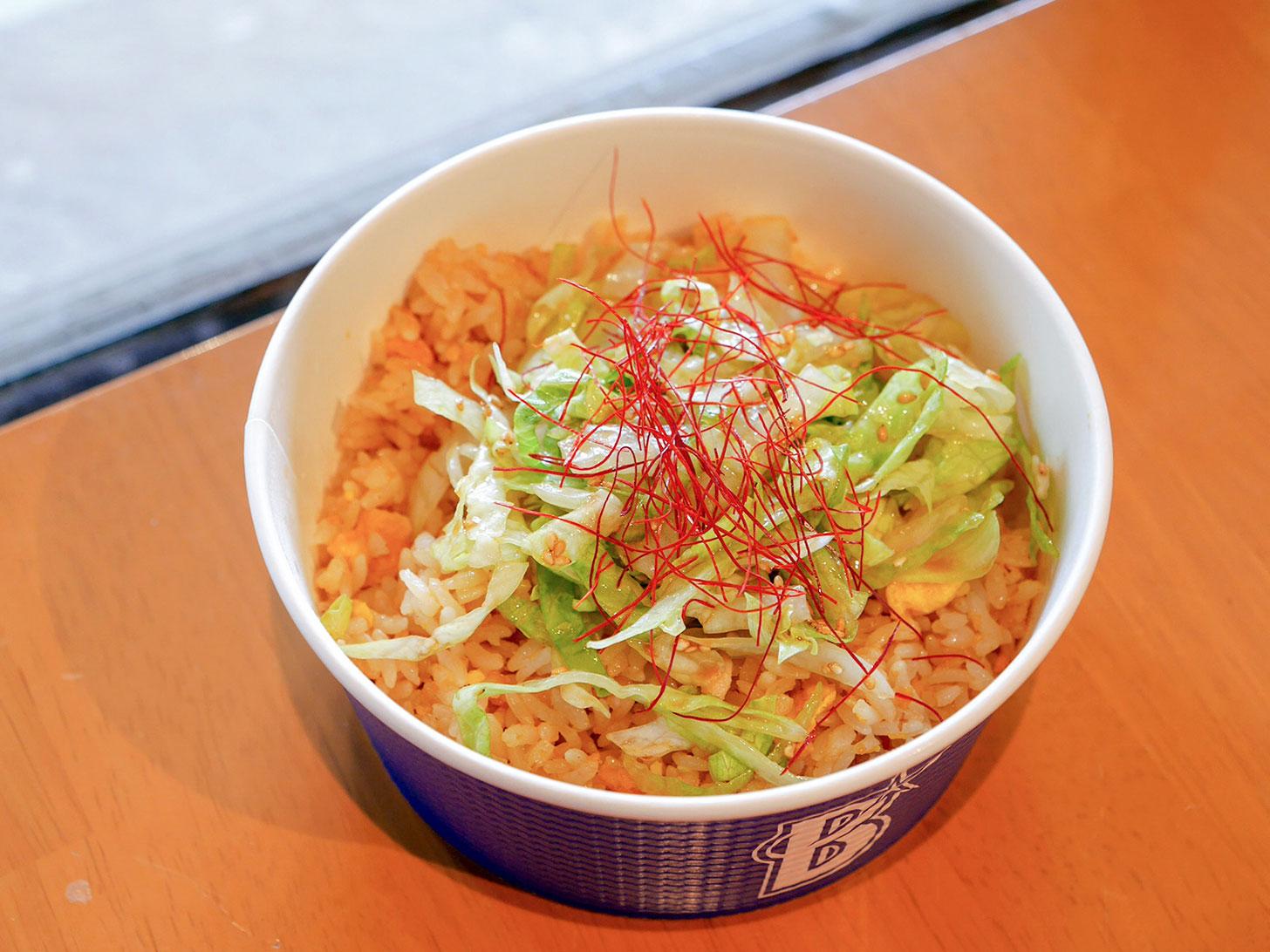 レタスチャーハン~醤油葱油風味