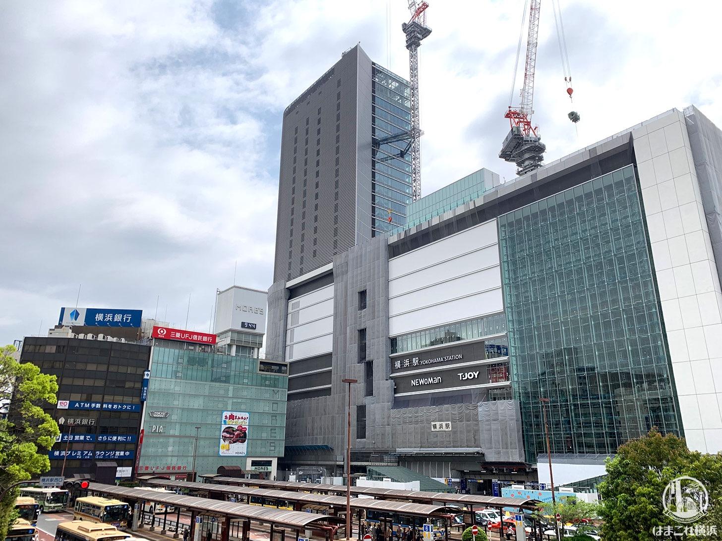 2019年5月 横浜駅西口の様子