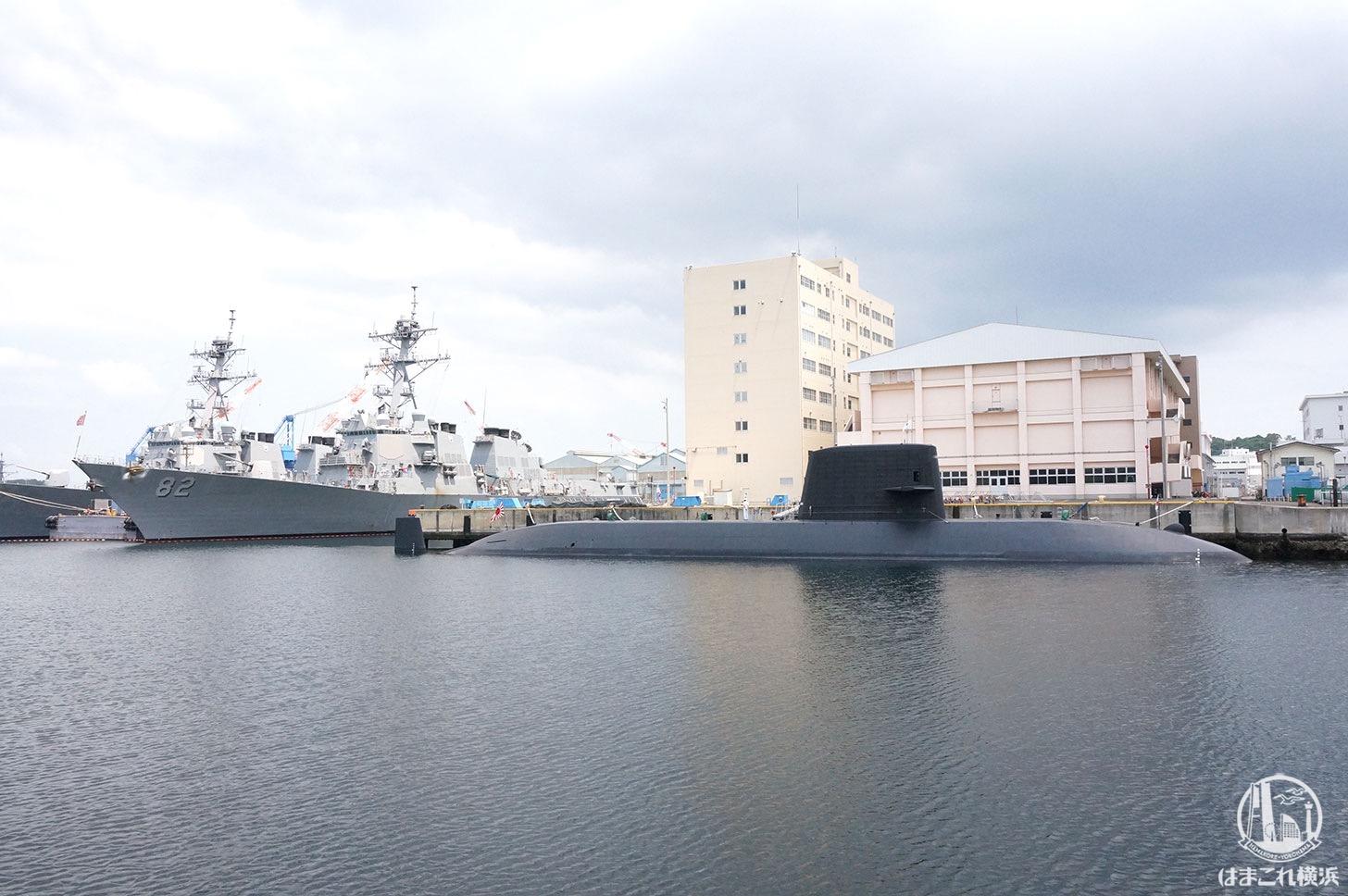 横須賀「軍港めぐり」軍艦
