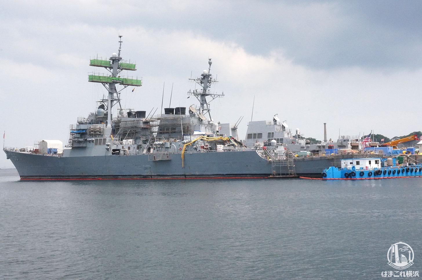 横須賀「軍港めぐり」イージス艦