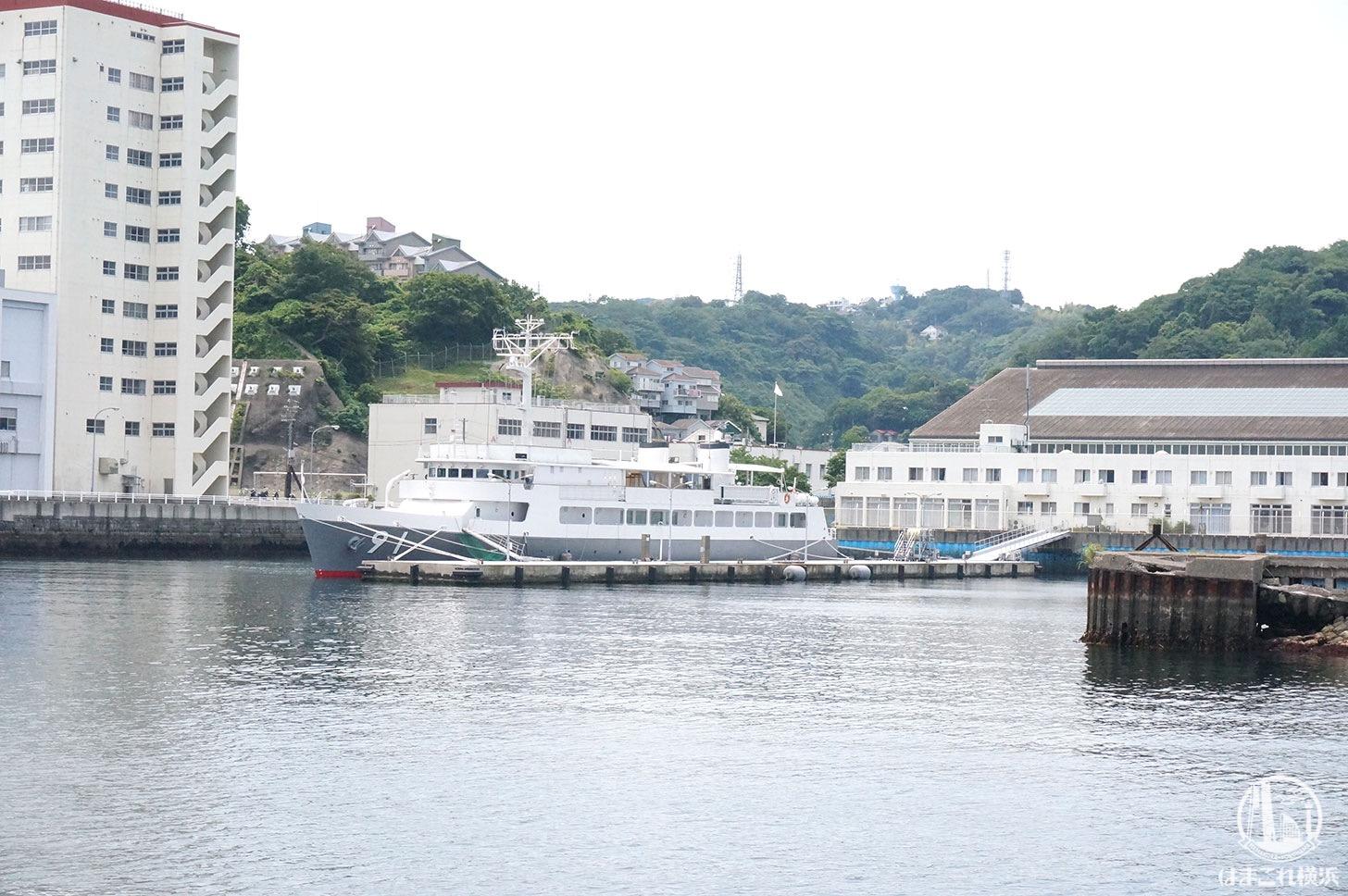 横須賀「軍港めぐり」軍港めぐり