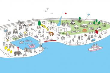 横浜 象の鼻パーク・象の鼻テラス10周年記念で展覧会「フューチャースケープ・プロジェクト」開催