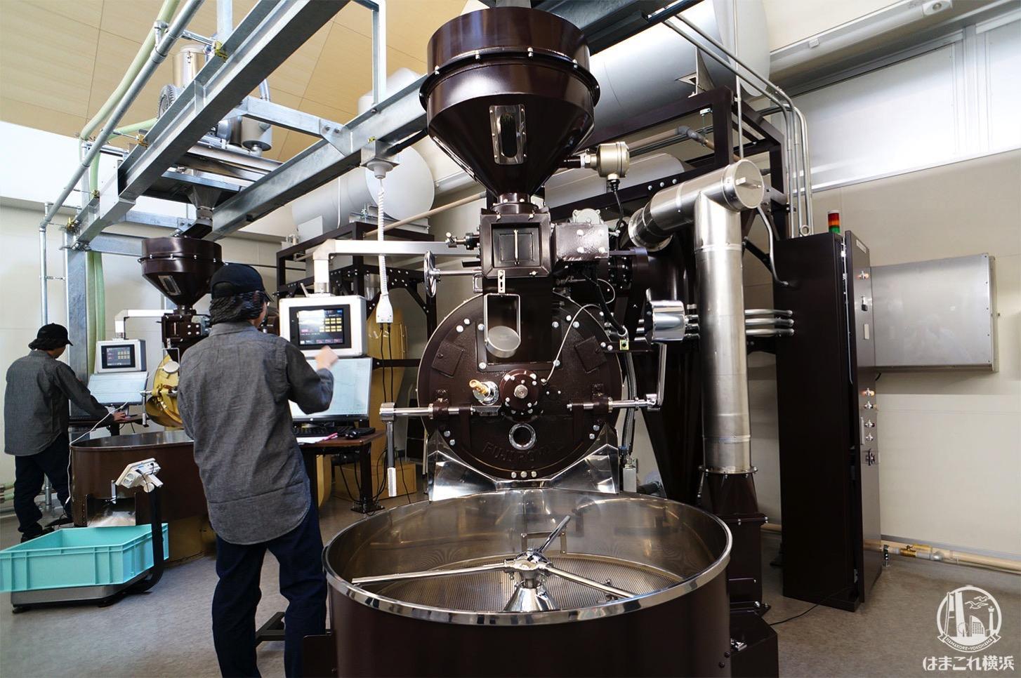 堀口珈琲「横浜ロースタリー」でコーヒー豆焙煎を工場見学!ブレンディング体験なども
