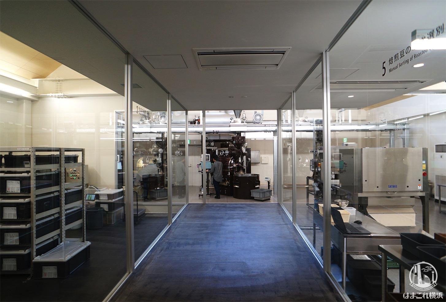 堀口珈琲「横浜ロースタリー」工場見学
