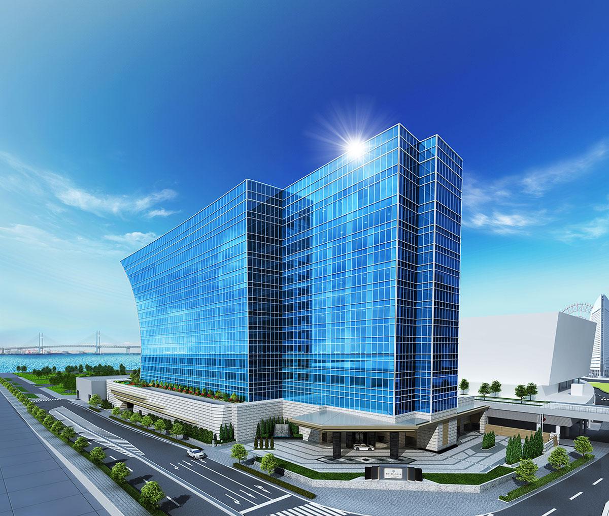 ザ・カハラ・ホテル&リゾート 横浜、みなとみらいに開業!内観イメージも公表