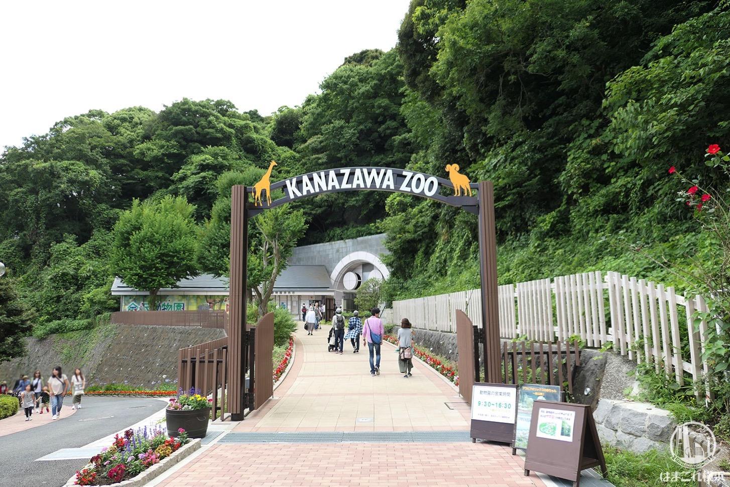 金沢動物園 入り口