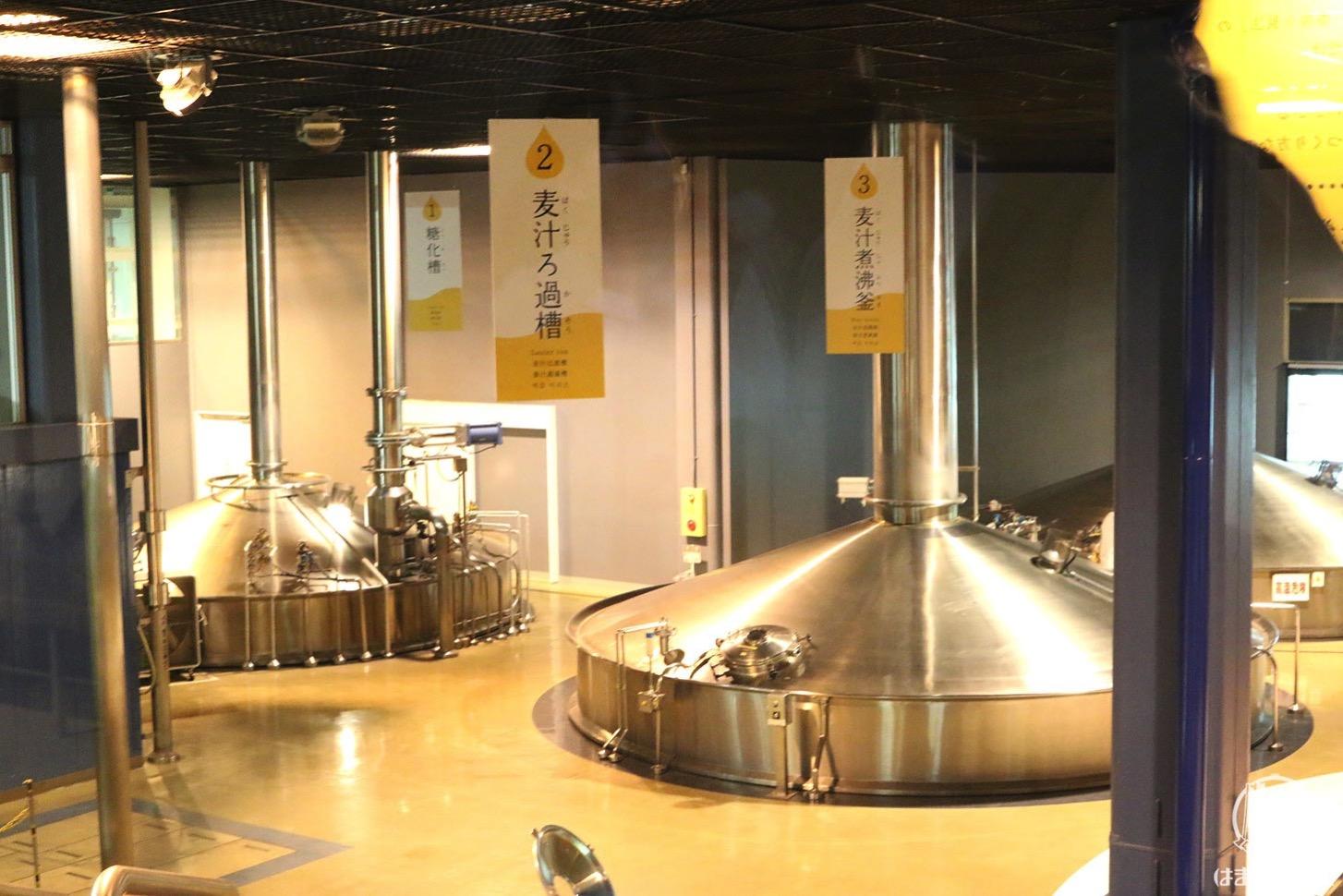 キリンビール横浜工場 工場見学