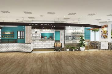 ダッドウェイ初の親子カフェが横浜ベイクォーターに!乳幼児安心の小上がり席や離乳食バー