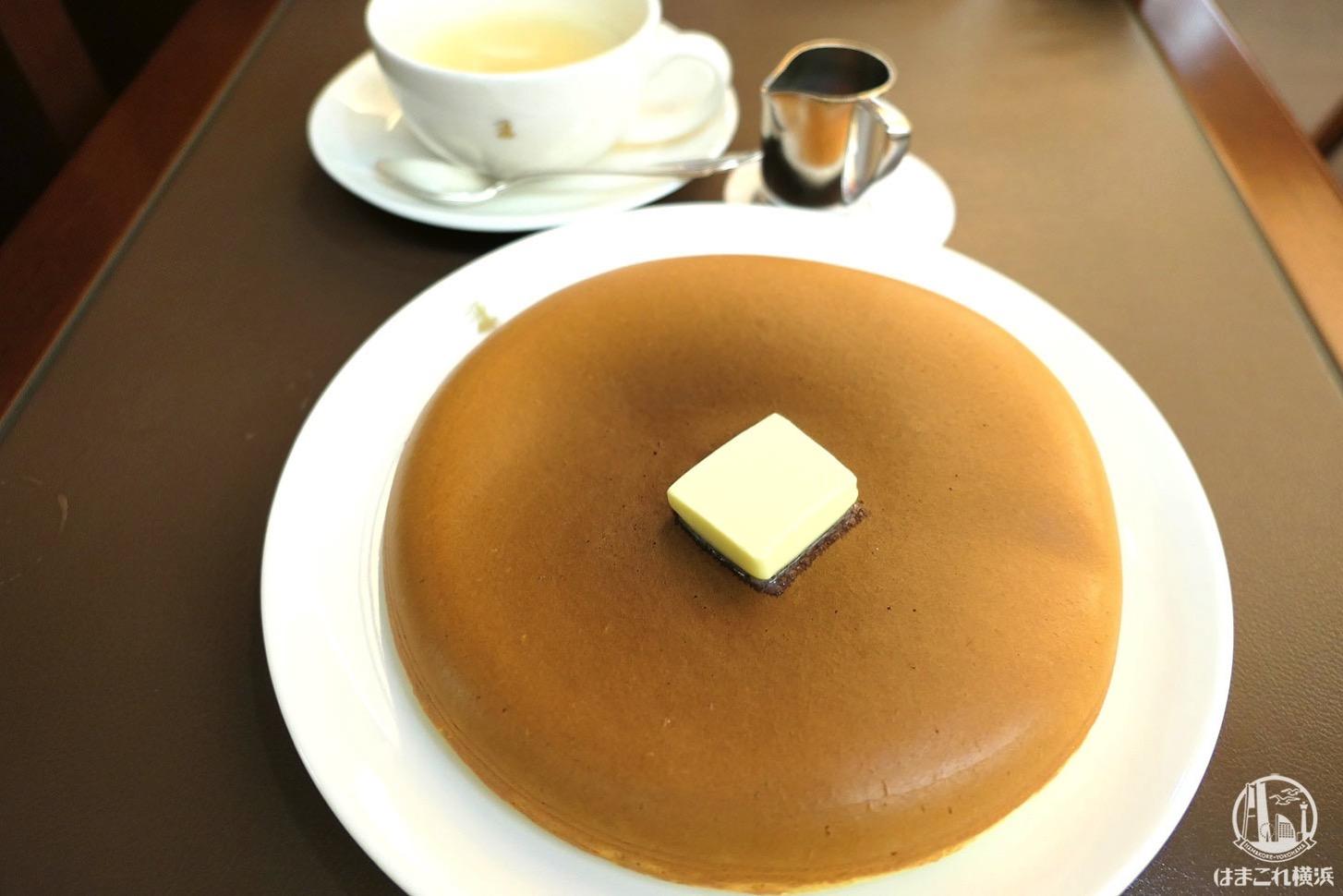 横浜高島屋「ウエスト ベイカフェ ヨコハマ」のパンケーキが上品でふかふかのホットケーキタイプ!