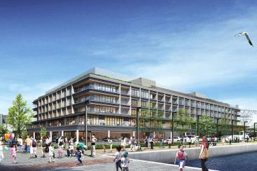 横浜ハンマーヘッド、飲食店テナント多数・複合施設構成など決定!