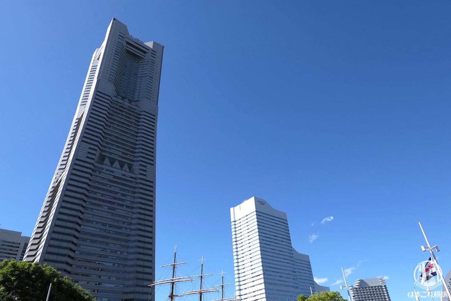 横浜ランドマークタワー展望フロア「スカイガーデン」