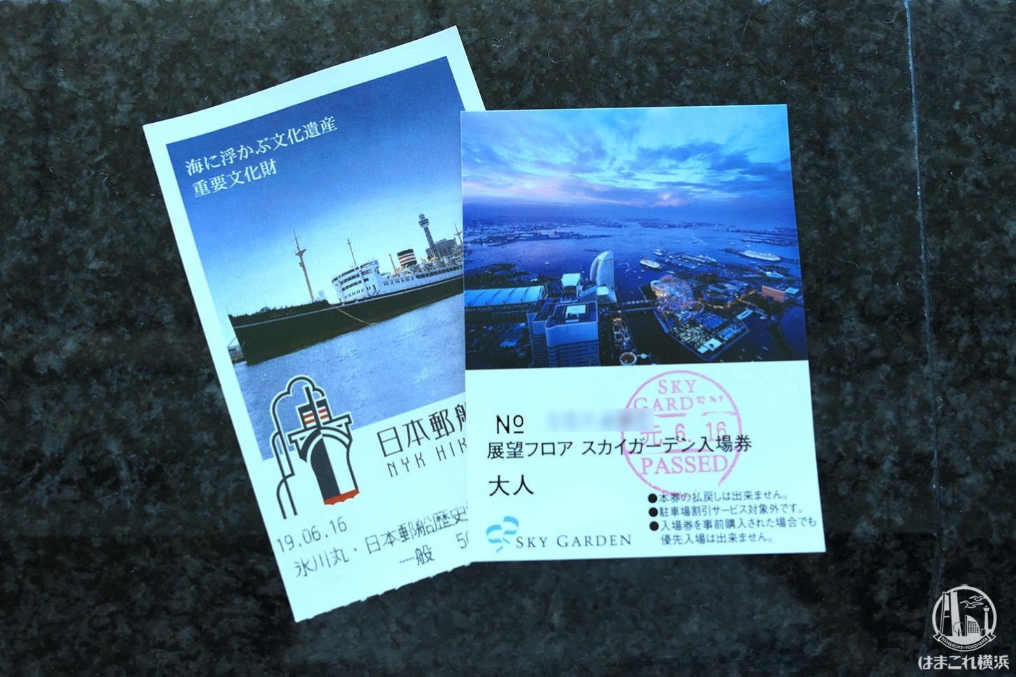 横浜ランドマークタワー展望フロア「スカイガーデン」入館チケット