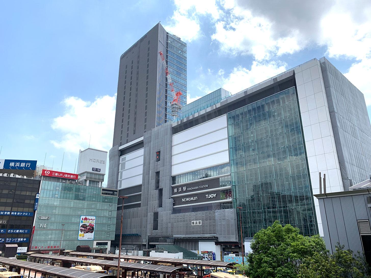 2019年6月 横浜駅西口の様子