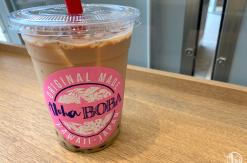 桜木町駅直結のアロハサラダはサッとタピオカドリンク飲めていい!
