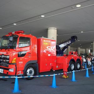 神奈川・横浜のりもの大集合!2019が開催 働くクルマやパトカー・消防車など