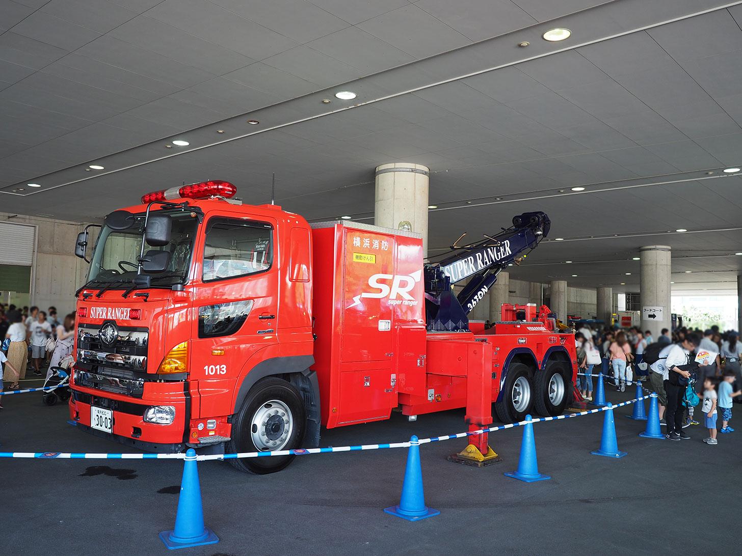 神奈川・横浜のりもの大集合!2019が開催、働くクルマやパトカー・消防車など