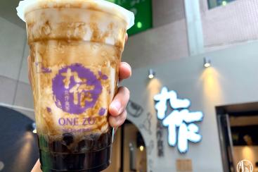 横浜中華街「丸作食茶」は粉から店内で作るタピオカドリンク店!杏仁タピオカも