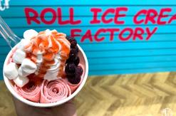 ロールアイスクリームファクトリー横浜山下公園店で出来立てアイス食べて来た!