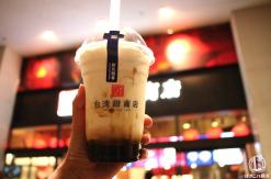 台湾甜商店みなとみらい店でおすすめのタピオカ「甜黒糖クリームミルク」飲んで来た!