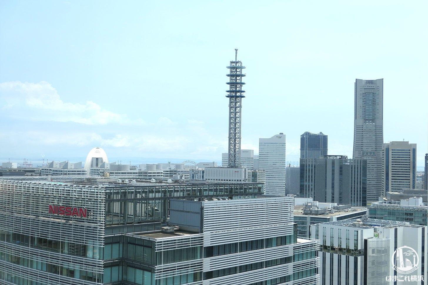 横浜 星のなる木 窓側席から見た景色