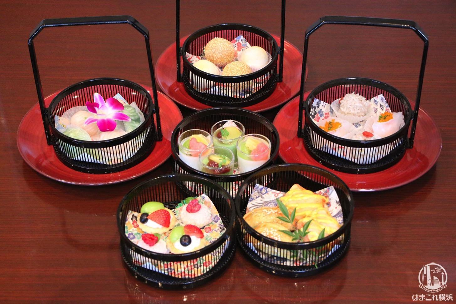 横浜「カリュウ」の飲茶アフタヌーンティーが美味しすぎ!本格料理に大満足