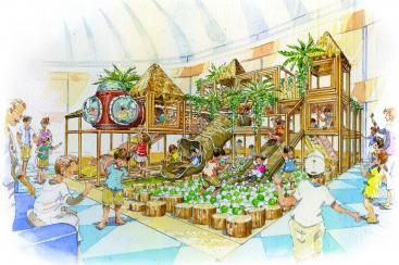 横浜・八景島シーパラダイスに子ども向け屋内エリア「あそべんちゃあ」誕生!