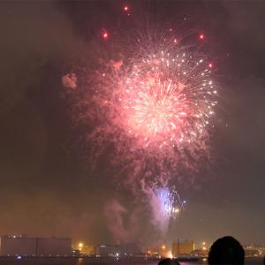 横浜スパークリングトワイライト、大さん橋有料ペア席・雨天時の感想