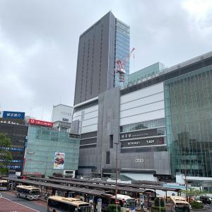 2019年7月 横浜駅西口 駅ビル完成までの様子