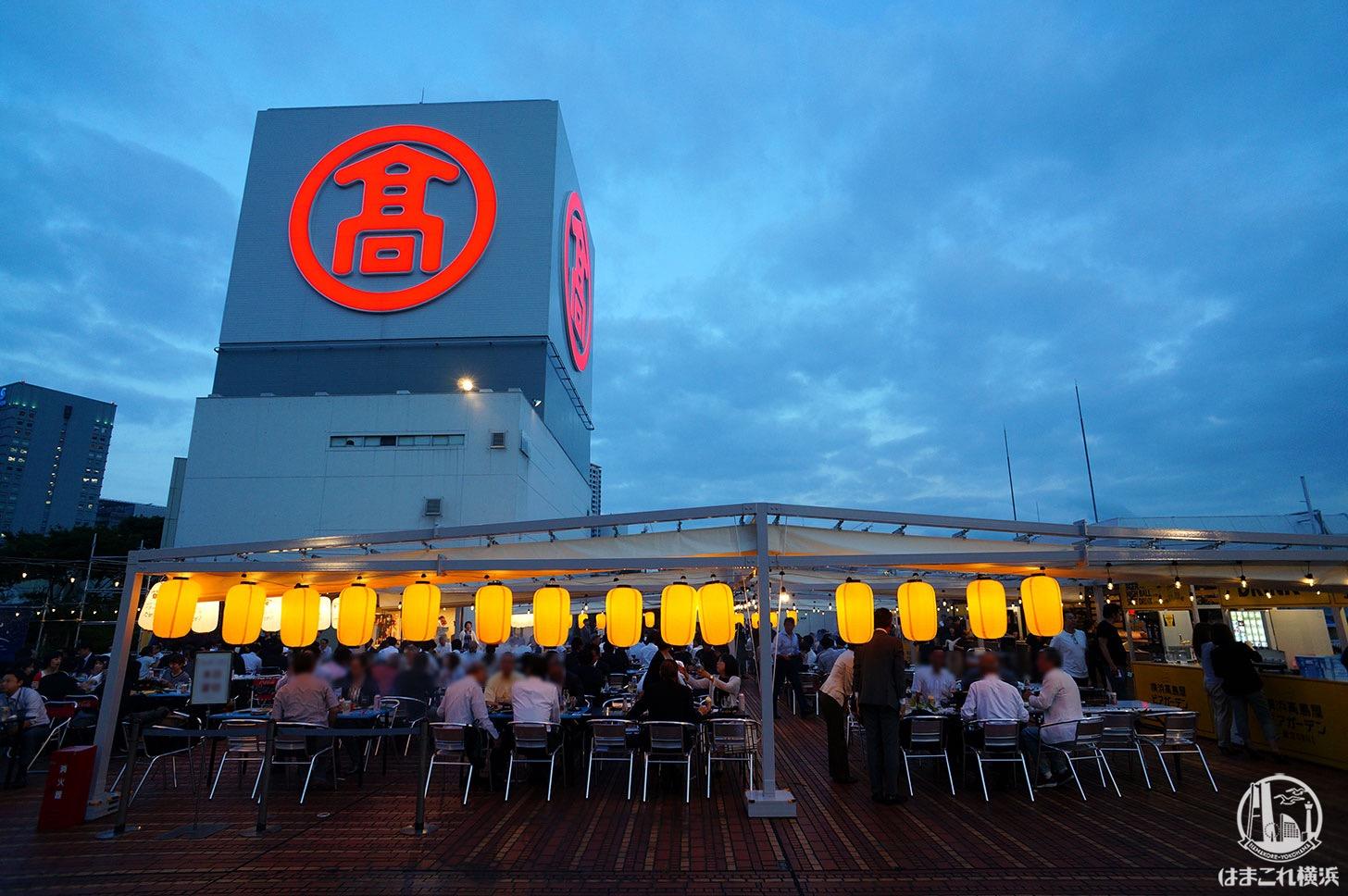 横浜高島屋 ビアガーデン 2019年
