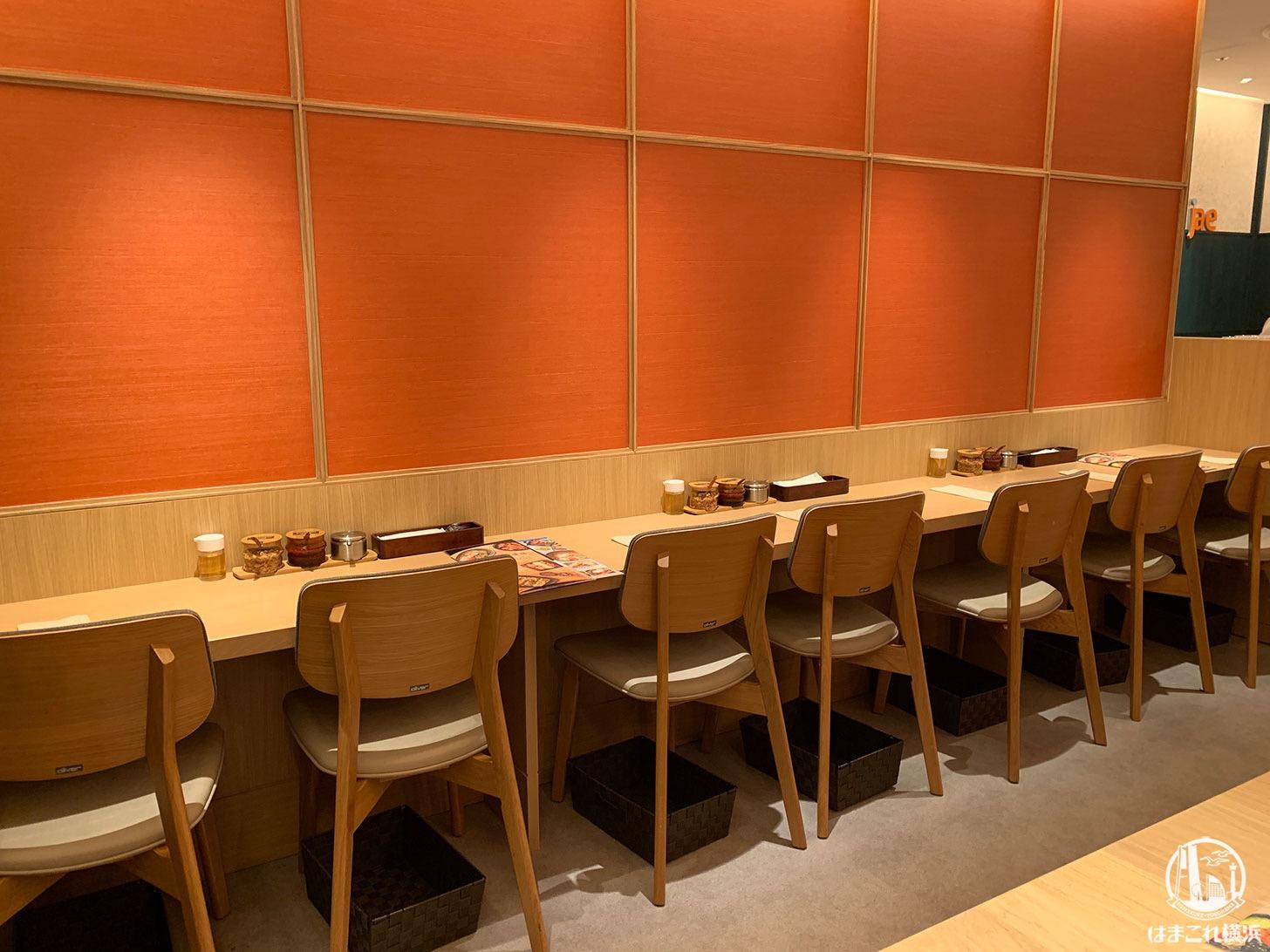 韓美膳 テーブル席